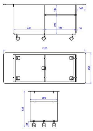 meuble transparent tv plexiglas lola. Black Bedroom Furniture Sets. Home Design Ideas