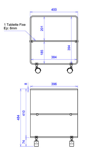 plan rangement cube